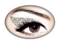 Violent Eyes - Silver Glitteratti
