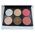 BHcosme 6color palette contour&blush