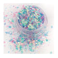 ATELIER RAISIN Cuppy Cake - Pink and Blue, Iridescent Cosmetic Glitter