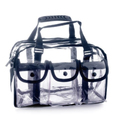 Monda Studio MST-250 Makeup Clear Bag Black