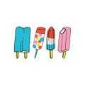 POPなタトゥーシール☆ TATTLY タトリー POPSICLES アイスキャンディー