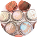 SET OF 5 BLINDINGLOW HIGHLIGHTERS
