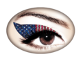 Violent Eyes - American Flag Glitteratti (アメリカンフラッググリッター)