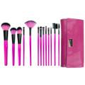 【正規代理店品】ROYAL Pink Essentials メイクブラシ13本 ラップキット