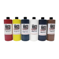 The Monster Makers Latex Colorant 4oz. 6color Kit