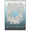 Bad-Ass-Stencils BAD6034 splatter