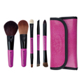 ROYAL & LANGNICKEL BRUSH ESSENTIALS™ PINK 5PC TRAVEL KIT