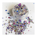 ATELIER RAISIN Jingle Bells - Silver, Purple, & Blue