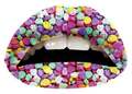 Candy Hearts Lip Tattoo -- Violent Lips by sugar FACTORY (VL)