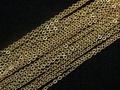 14KGF 14金ゴールドフィールド 小豆(あずき)チェーン ネックレス