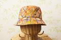 綿帽子(サラサ模様)