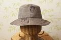 着物リメイク-正絹泥大島帽子