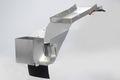 一体式フェンダーレスキット シルバー(アルミ無垢) GPZ900R17インチ用 アルミ製