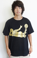 Platini T Shirt Black×Gold