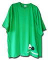 BASKETBALLCAFE_Tシャツ_グリーン×ネオングリーン×ホワイト×ブラック/2XL