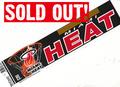 MIAMI HEAT(ヒート)/NBA90sデッドストックバンパーステッカー
