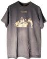 """""""CLOORS""""AD14Tシャツ/Heather Indigo x White(淡インディゴx白)"""