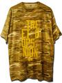 S.H.U;STRE ETHO OPSU NION 迷彩Tシャツ/D_CAMO(砂漠迷彩)&YLW(黄)/XLサイズ