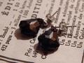 Helluin CrowBlack pierced earrings /ヘルルインクロウブラック ピアス BTzakka