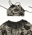 Xback Bra Silk Old Lace