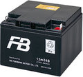 古河電池 小形制御弁式鉛蓄電池 標準タイプ 12m24B (12V24Ah/20HR)