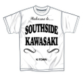 SOUTHSIDE KAWASAKI S/S TEE WHITE