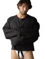 エクストラブラック ストレイトジャケット/拘束衣 /STD822024 /自縛・自虐・セルフボンデージ