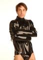 プレミアムラバー ストレイトジャケット/拘束衣 /STD1921684 /自縛・自虐・セルフボンデージ