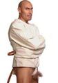 病院用拘束服 キャンバス地ストレイトジャケット/拘束衣
