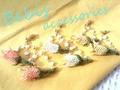 ★お花のブランコ★チューリップピアス Bebis accessories