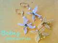 ★Flowering★Wフラワーピアス Bebis accessories