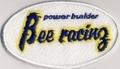 Bee★R  ロゴ ワッペン 丸型