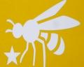 Bee ステッカー蜂 大