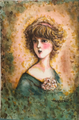 「ノスタルジック Girl vol.2」水彩画 はがきサイズ