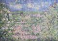 「フラワーガーデン」アクリル画 B2サイズ 728 × 515mm 木製パネル 額なし 送料込み アート インテリア