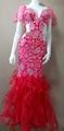 SOL Dance . Pink Dress Costume.ベリーダンス衣装、フルコスチューム