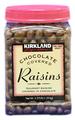 #3016 カークランド チョコレート レーズン