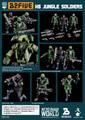 【送料無料】AcidRain K6 Jungle soldier set Wave1