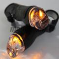 自転車用LEDウインカーグリップ「Xprit ブザー付LEDバーエンドバー」