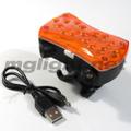 USBワイヤレスバイクターンシグナルライト
