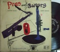 【米Norgran mono】Lester Young & Harry Edison/Pres And Sweets (Oscar Peterson, Herb Ellis, Ray Brown, etc)
