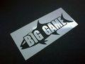 BIGGAME・オリジナルステッカー/SSサイズ