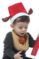 【販売品】Chistmas BABY サンタ スタイセット【スタイ サンタさん】★SALE!