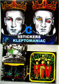 KLEPTOMANIAC/ 9 STICKERS TYPE C