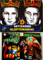 KLEPTOMANIAC/ 9 STICKERS TYPE D