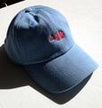 BLACKFACE BENT BRIM CAP