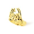 HAND SIGN GOLD RING