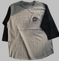 Monsters-3/4sleeve baseball-T