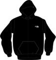 BSR OFFICIAL ZIPUP HOODIE-black