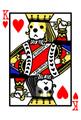 ポストカード:キャバリアトランプ